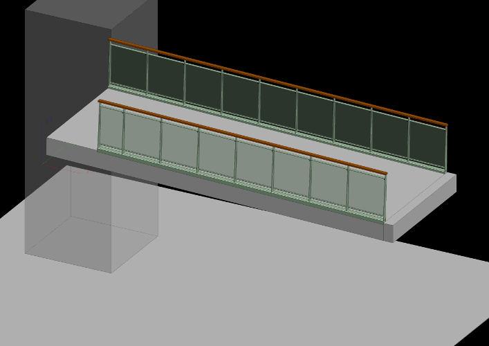 Balustrade bridge 800x500